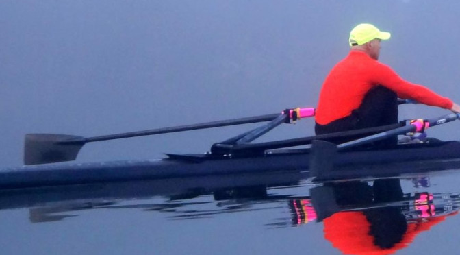 Early Morning Sculling on Fernan Lake
