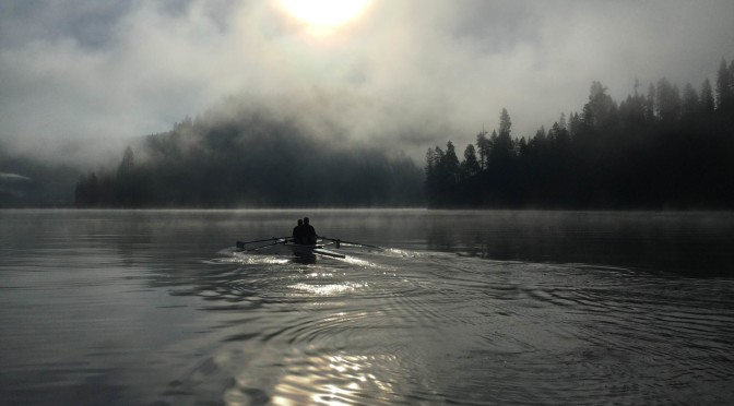 A Foggy Fernan Morning Row